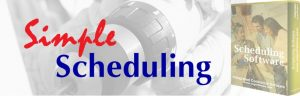 simple scheduling software
